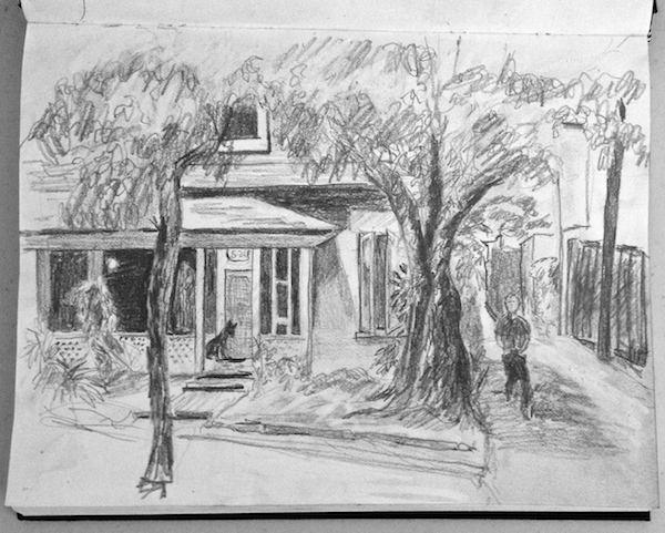 Drawing École D'art Pointe-Saint-Charles Art School