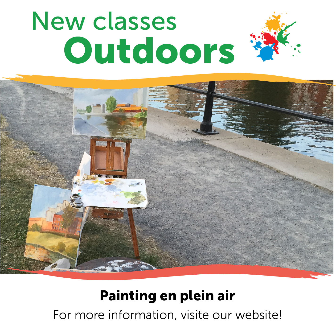 Our Regular Classes Offered In An Outdoor Version (weather Permitting)
