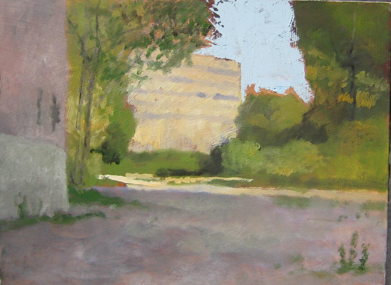 painting peinture École d'art Pointe-Saint-Charles Art School